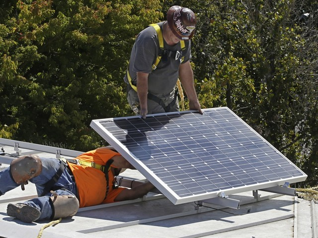 Netflix's home puts a new angle on solar