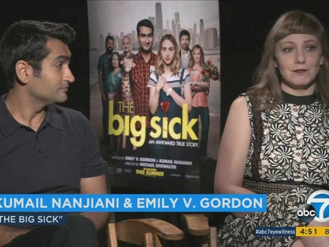 Comedian's real life romance turns into big screen comedy, 'The Big Sick'