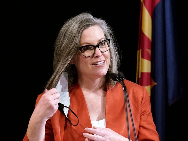 Arizona GOP legislators votes to strip powers from the Democratic secretary of state after she slammed the state's GOP-led 2020 election audit