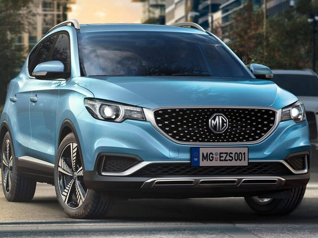 MG To Offer All-Electric ZS Compact SUV In The UK This Fall