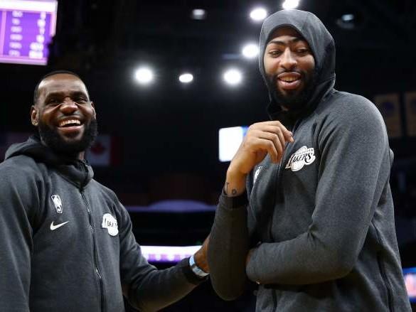 LeBron James Hilariously Trolls Anthony Davis After Win