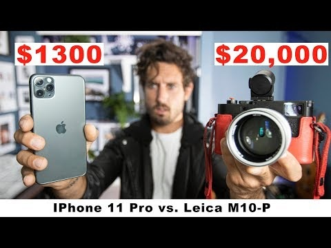 iPhone 11 Pro VS $20,000 Leica, Can You Tell The Difference?
