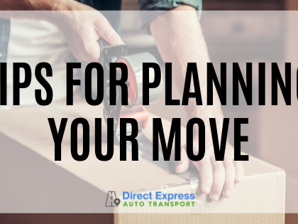 Tips for Planning Your Move: The Quick-and-Easy Relocation Checklist (INFOGRAPHIC)