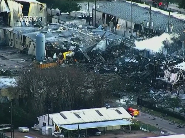 Massive Explosion At Houston Plant Damages Nearby Homes, Businesses