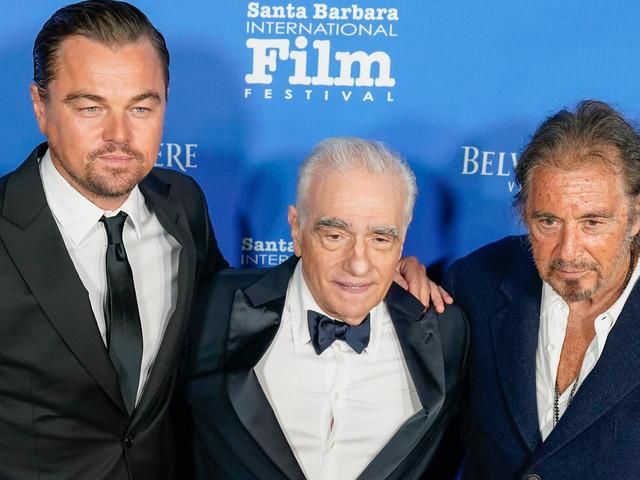 Leonardo DiCaprio Honors Martin Scorsese at Santa Barbara Film Festival!