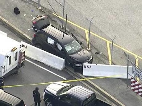 Shots fired: FBI probing why SUV tried to enter NSA campus