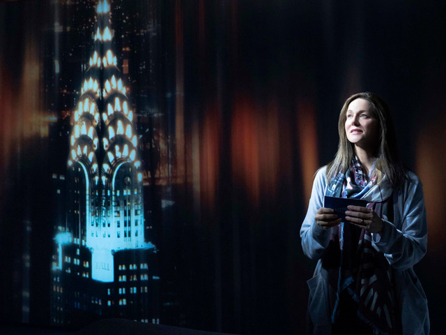Laura Linney shines in Broadway's blah 'My Name Is Lucy Barton'