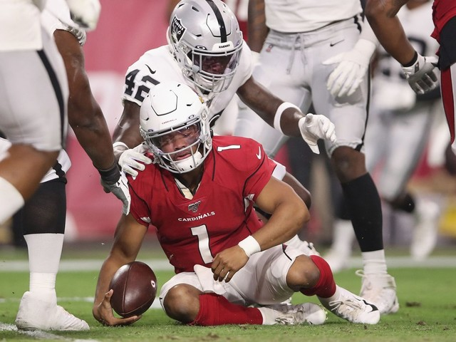 Kyler Murray's second game struggles bring a snap clap problem
