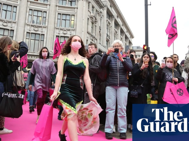 Scrap the catwalk: Extinction Rebellion is right – London fashion week is unsustainable