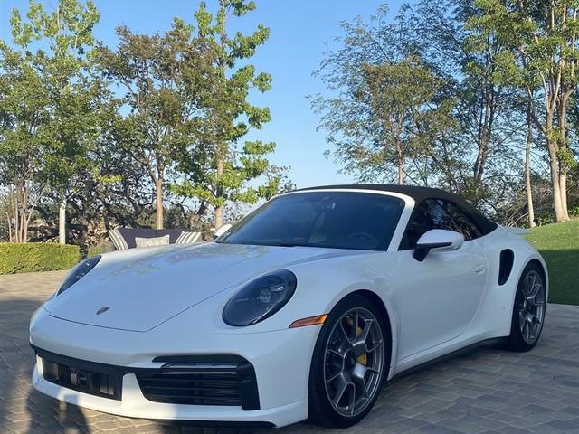 2021 Porsche 911--Turbo--S--Cabriolet