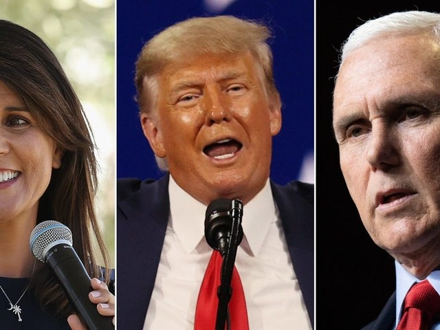 Republican presidential hopefuls are contesting 'shadow primaries' to avoid angering Trump, report says