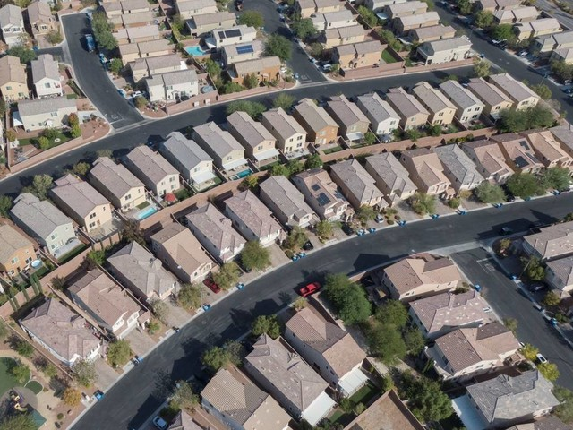 Las Vegas house prices set another record as sales fall from April