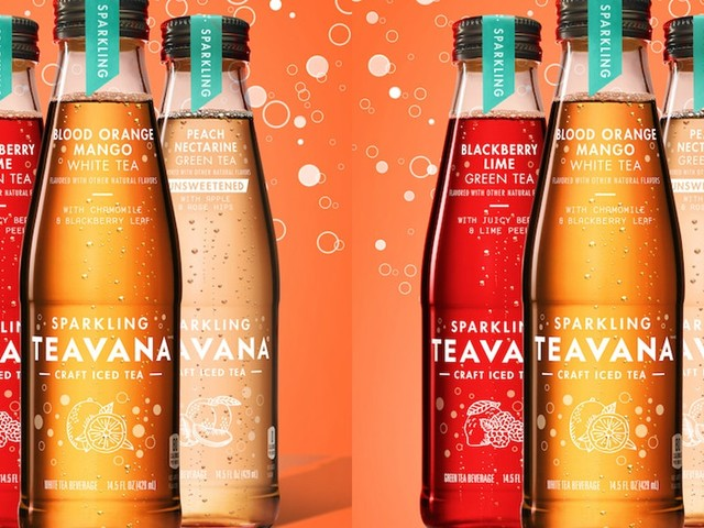 Here's Where To Get Teavana's Sparkling Craft Iced Teas That Come In 3 Tasty Flavors