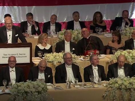 73rd Annual Al Smith Dinner Held In Midtown Manhattan