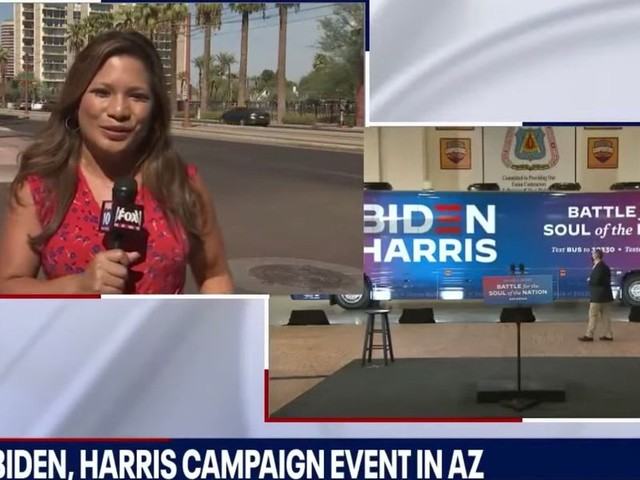 Brutal news report shows no one showed up for major Biden/Harris campaign event: 'Not much to see'