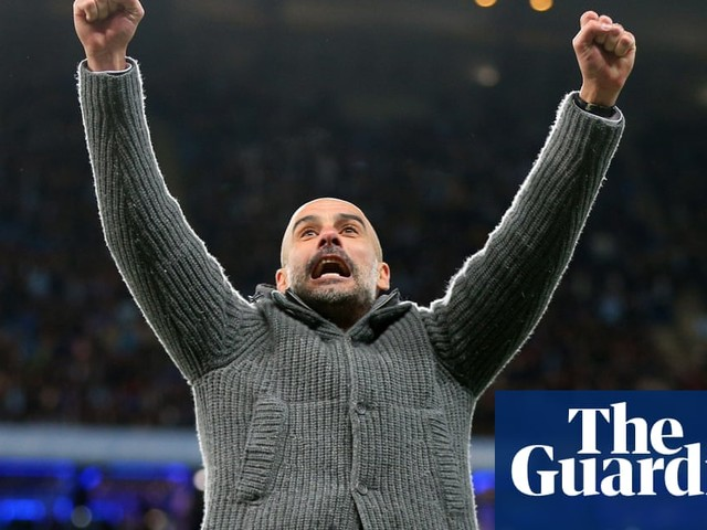 Pep Guardiola says Liverpool play with no pressure as City reclaim top spot