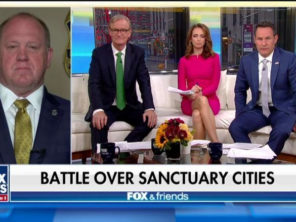 Tom Homan on President Trump Proposal to Send Illegal Immigrants to Sanctuary Cities
