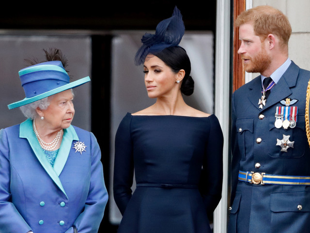 Meghan and Harry broke up with the Queen over email: report