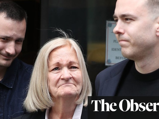 Justice system smeared our mother, say Sally Challen's sons