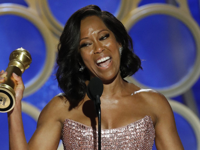 Regina King Wins Golden Globe, Delivers Powerful Vow To Boost Women's Representation
