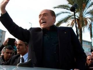 Italy's Berlusconi rebounds again to run for EU parliament