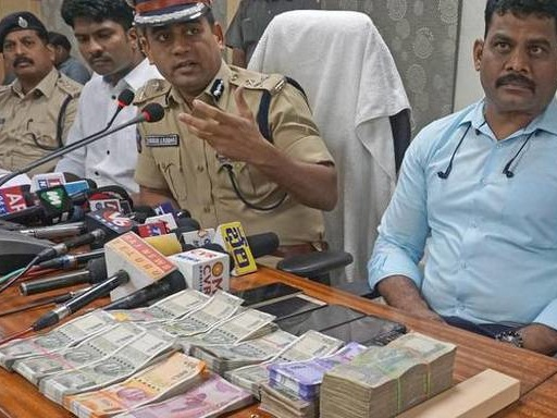 Four held for collecting money from leaders in Chief Minister's name