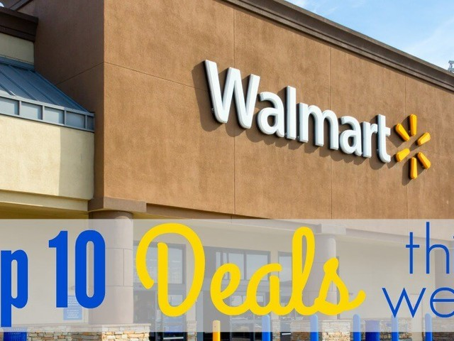 10 of the Most Popular Deals at Walmart This Week