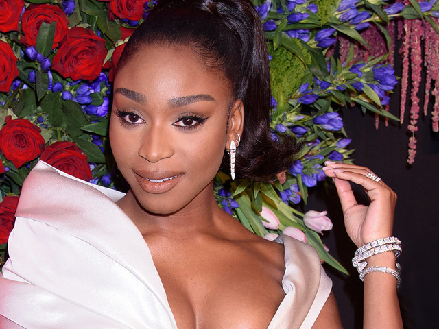 Normani Dances in Houndstooth Heels, Matching Latex Bra For Cameo in Cardi B's 'WAP' Music Video