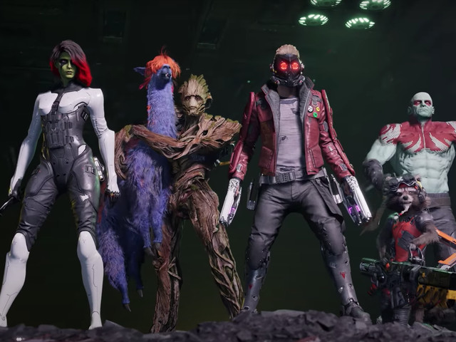 Square Enix announces new Guardians Of The Galaxy game
