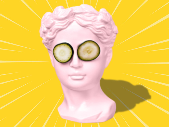 Pickle Me This: Does Putting Cucumbers on Your Eyes Do Anything?