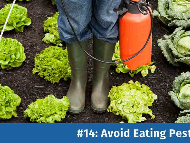 Improve Your Health by Avoiding Pesticides