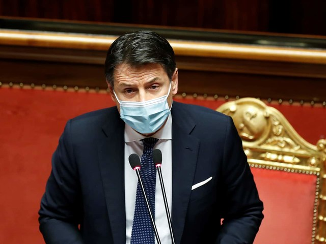 Italy's Conte survives no-confidence vote to stave off government collapse