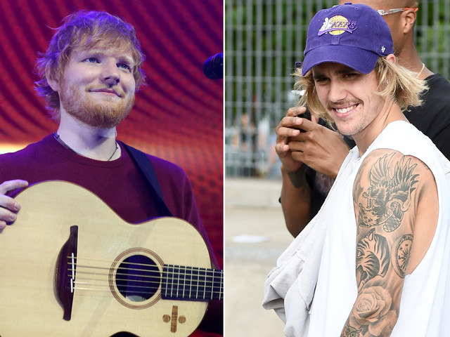 Ed Sheeran, Justin Bieber back together with breezy 'I Don't Care'
