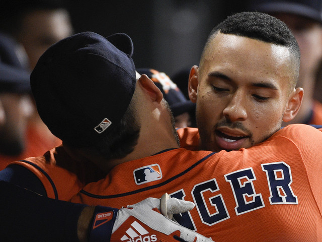 Correa HRs twice, Astros magic number at 1 for AL West