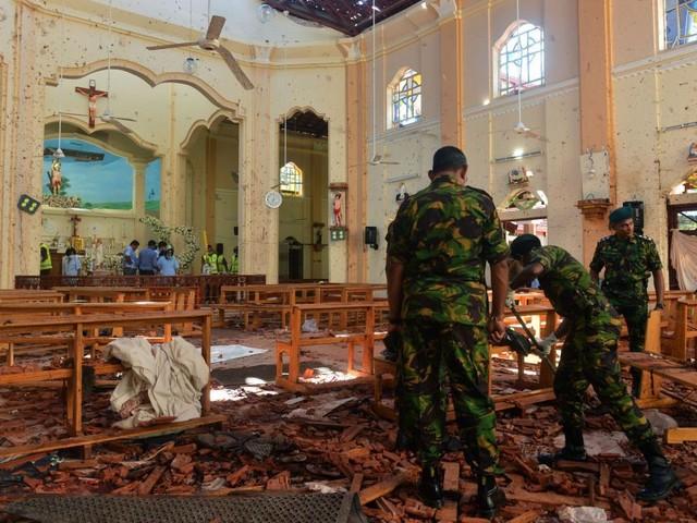 Sri Lanka blames local Islamist extremist group for Easter bombings that killed 290