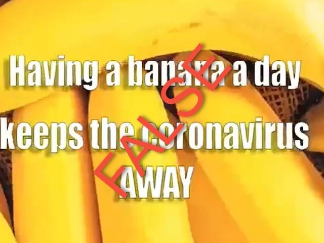Will Eating Bananas Prevent Coronavirus Infection?