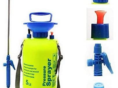 FarmEarth by Girdhar Hand Pressure Garden Sprayer 5 Liter Compressed Air Agriculture Sprayer Pump 5L