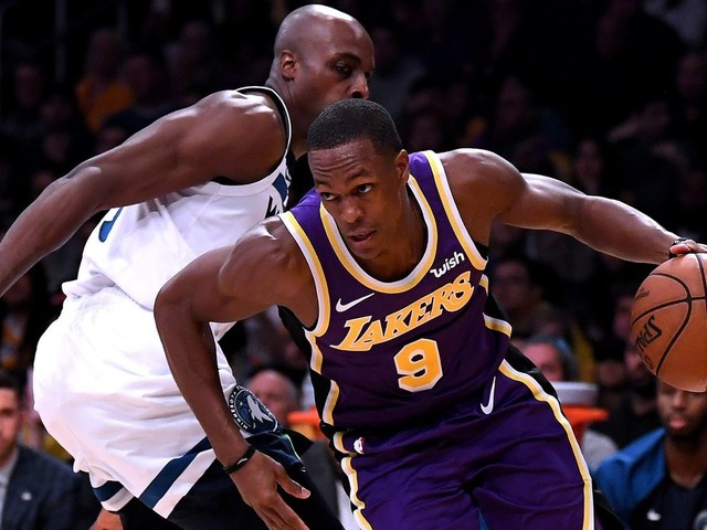 Rajon Rondo cleared for full contact practices with Lakers