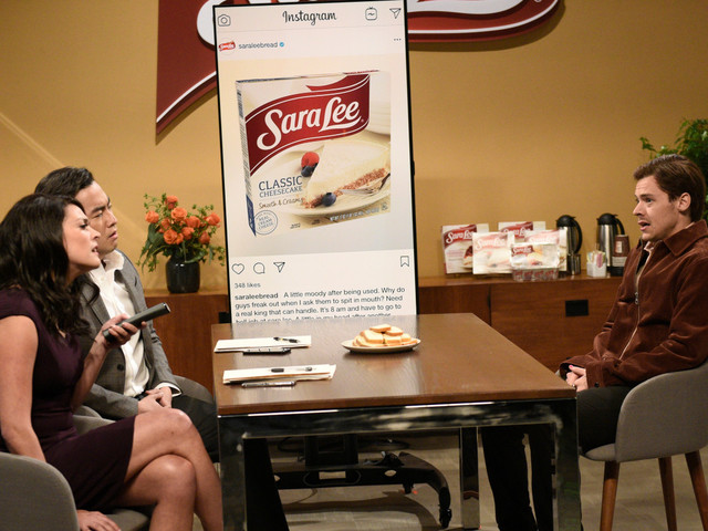 Sara Lee reacts to Harry Styles' raunchy 'SNL' sketch
