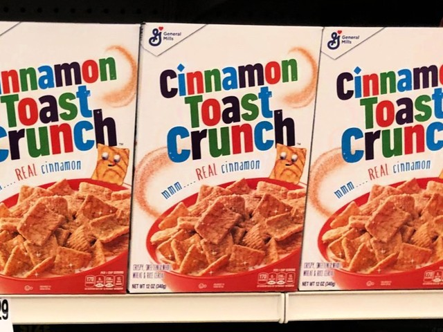 General Mills Cereal $1.38 each at Walgreens