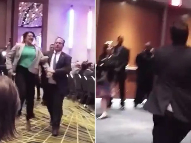 Viral video shows Rashida Tlaib being forcibly dragged out of Trump campaign event in 2016 by Secret Service