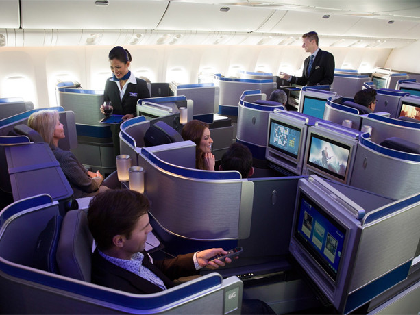 Where are the all the 'free' first or business class seats?