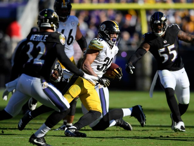 With James Conner, the Steelers haven't needed Le'Veon Bell to get Le'Veon Bell-level play