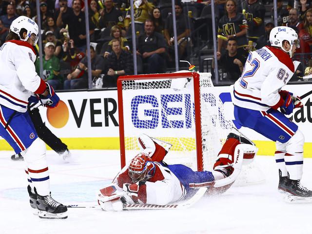 Canadiens see historic run, winning streak snapped in Las Vegas