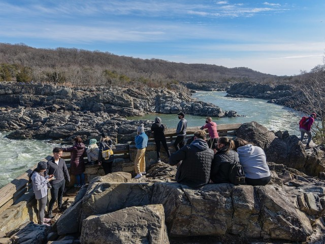 In Great Falls, Va., a close-knit community surrounded by nature