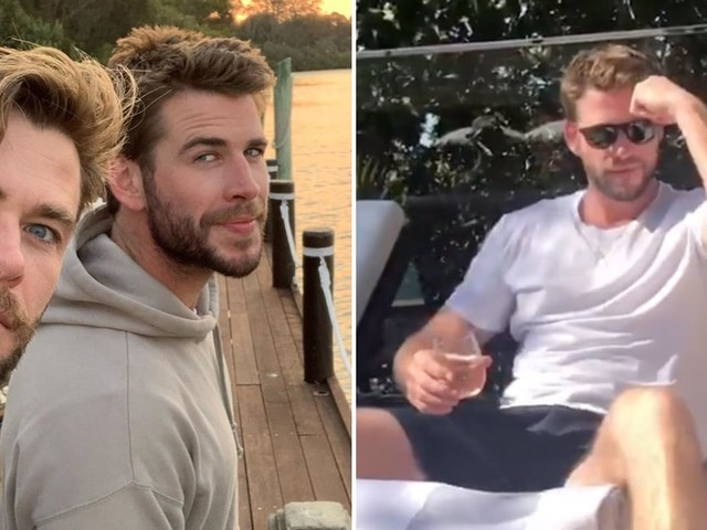 Liam Hemsworth Soaks Up Family Time on Vacation After Miley Cyrus Divorce