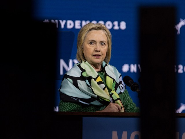 Hillary: 'Democrats — We Believe In Facts,Real Ones, Not the AlternativeKind'