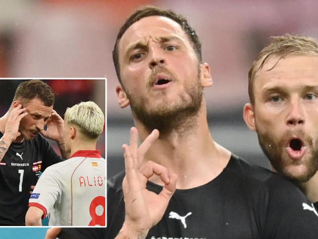 'I stand for diversity': Euro 2020 hothead Arnautovic denies racist goal celebration as North Macedonia urge 'harshest punishment'