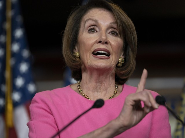Delusional Nancy Pelsoi, Democrats lash out at Donald Trump -- again