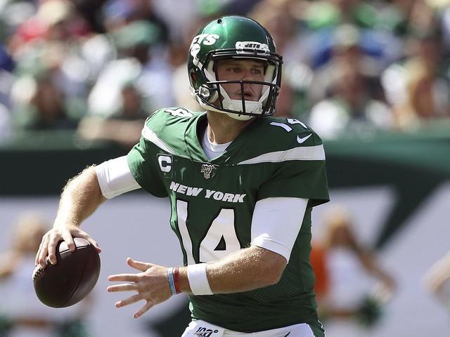 Jets QB Sam Darnold ruled out vs. Eagles, Luke Falk to start